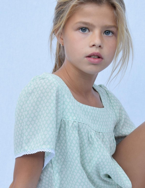 Blusa mint junior