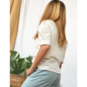 Blusa Marsan Blanco Roto