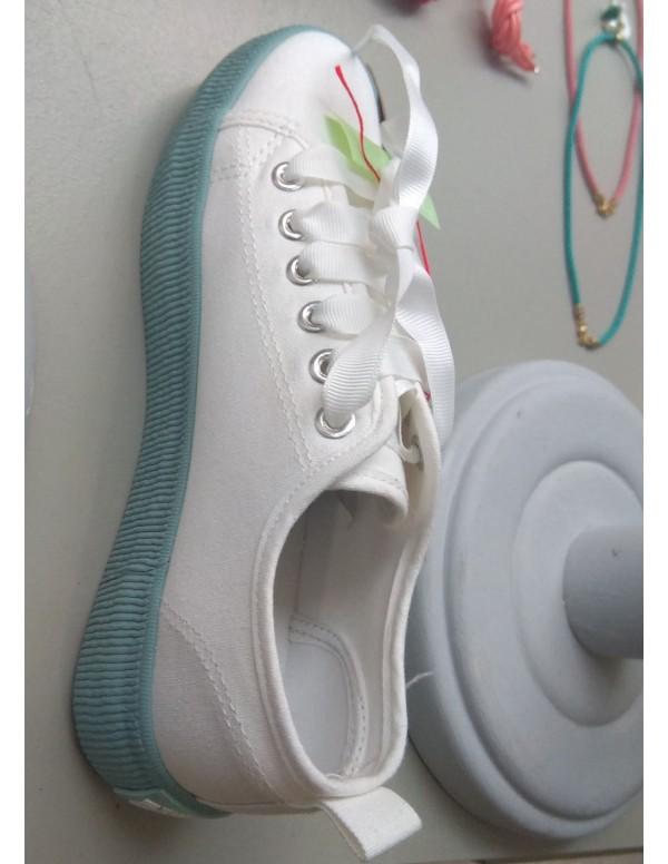 Zapatilla emma - blanco