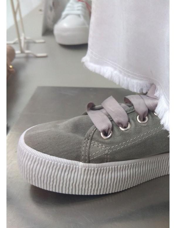 Zapatilla emma - titanum gris