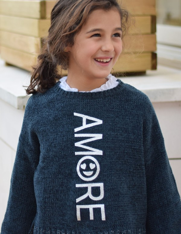 Jersey Amore Azul Junior