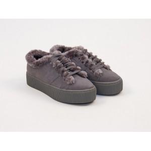 Zapatillas Fur Grises