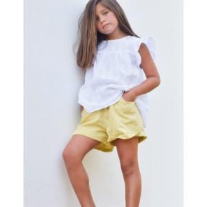 Short Junior Mostaza