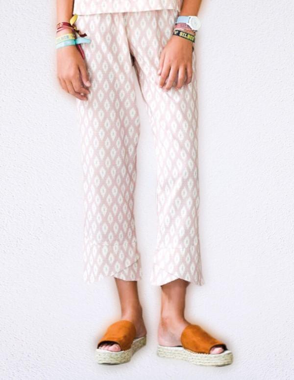 Pantalon Teen Brusan Rosa