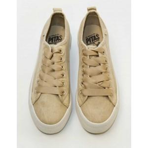 Sneaker beigue