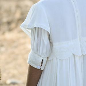Detalles vestido comunión guadameci