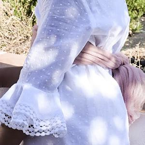 Detalles vestido comunión Lizana