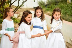 Vestido de comunión Nazari