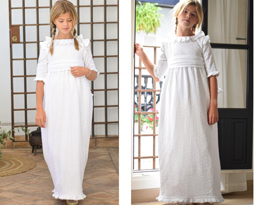 vestido de comunión Azumbre