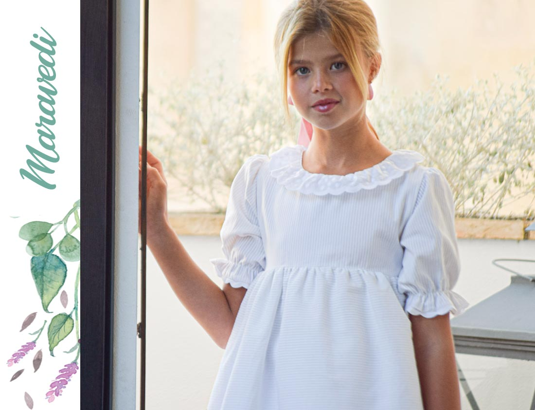 vestido de comunión maravedi