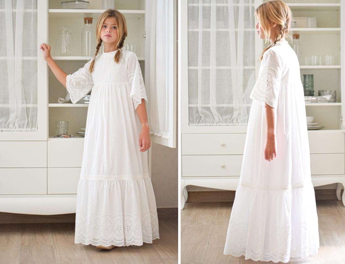 vestido de comunión aguamanil