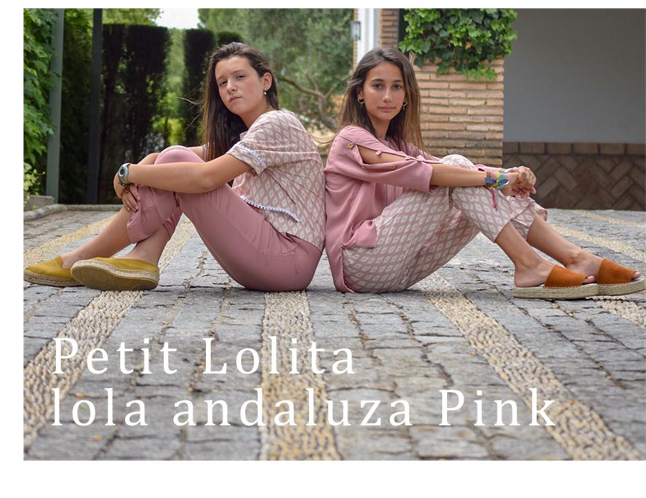 Capsula Petit Lolita Lola Andaluza Pink Dimelo Hilando