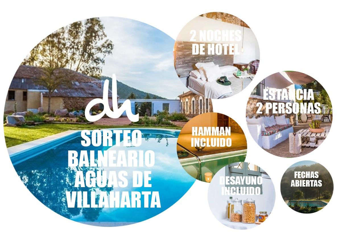 Sorteo Dimelo Hilando Balneario Aguas de Villaharta -> Premio