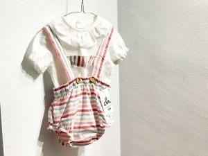 Look bebé rayas multicolor
